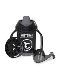 <b>Поильник Twistshake Mini Cup</b>, цвет: чёрный, 230 мл — купить в ...