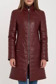 <b>Кожаная куртка IPARELDE</b> арт B578F_BORDEAUX BORDEAUX ...