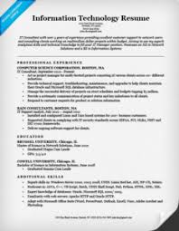information technology it resume example information technology resume information technology cover letter sample technology cover letters