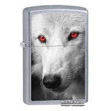 Зажигалка Zippo 207 Wolf With Red Eyes (28877 ... - ROZETKA