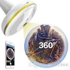 2019 360 Degree <b>Wireless Wifi Smart Infrared</b> Night Vision <b>White</b> ...