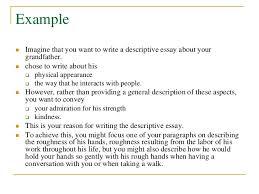 samples of descriptive essay how to write a descriptive essay  example