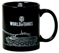"""<b>Кружка</b>-хамелеон <b>World of</b> Tanks """"Пламя"""", в подарочной упаковке"""