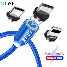 <b>Olaf LED USB Magnetic</b> Cable For Samsung Micro USB Cable Fast ...