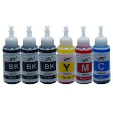 ck 400ml 4 color bk c m y dye ink compatible for dedicated epson filling of printer ciss cartridge inks prin