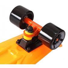 <b>Скейтборд</b> Fishskateboard 22 <b>Y</b>-<b>SCOO</b>, цвет оранжевый, артикул ...
