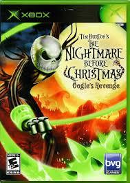 Video game:Microsoft Xbox Tim Burton's <b>The Nightmare Before</b> ...