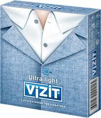 <b>VIZIT Презервативы</b> Ультратонкие, <b>3</b> шт — купить в интернет ...
