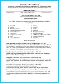 Special Car Sales Resume to Get the Most Special Job   How to     How to Write a Resume in Simple Steps
