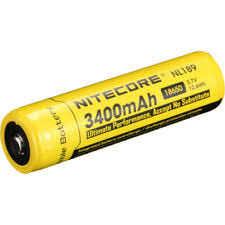 Li-Ion Rechargeable Batteries <b>NITECORE</b> 3.7 V for <b>sale</b> | eBay