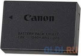 <b>Аккумулятор Canon LP-E17</b> для EOS 750 760 — купить по лучшей ...