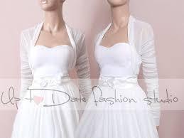 <b>Bridal White tulle jacket</b>/cover up/ ,long sleeves <b>wedding bolero</b> ...
