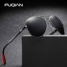 FUQIAN <b>2019</b> Classic Pilot <b>Polarized</b> Sunglasses Men <b>Fashion</b> ...