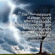 Measure Of A Man Quotes. QuotesGram via Relatably.com