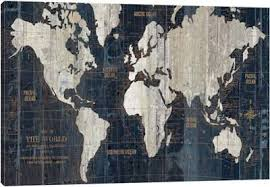 <b>World Maps Canvas</b> Wall Art | iCanvas