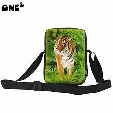 One2 Дизайн животных леса полиэстер одного плеча тигр ...