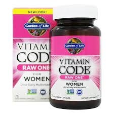Garden of Life - <b>Vitamin Code RAW One</b> Multi-Vitamin For Women ...