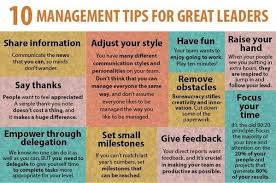 "Wright Thurston on Twitter: ""10 #Management Tips for Great Leaders ..."