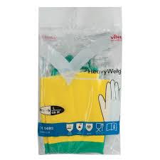 Купить <b>Перчатки хозяйственные</b> латексные <b>VILEDA</b> с х/б ...
