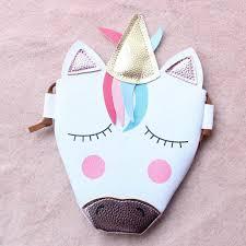 <b>3D</b> Printing Schoolbags <b>Unicorn Pattern</b> Girls Drawstring Bag Baby ...