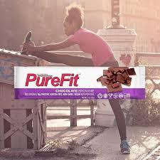 PureFit <b>Nutrition Bars</b> - <b>Chocolate</b> Brownie Nutrition Bars