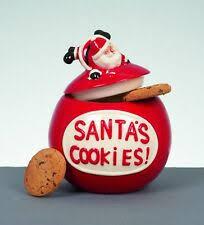 Санта Клауса Рождество и зима стол <b>банки для печенья</b> ...