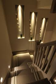 stairway lighting love the staggered wall niches with lighting should be relatively inexpensive to do between adfix ironmongery lighting hanging pendant lights