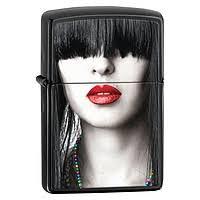 <b>Зажигалка Zippo</b> Woman <b>Red Lips</b> 28536 - купить в интернет ...