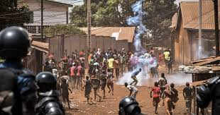 Timeline: A year of bloody protests in Guinea | Alpha Conde News ...