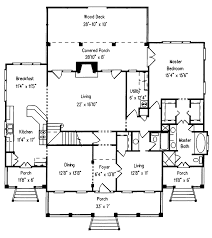 Coxburg Plantation Home Plan D    House Plans and MoreSouthern House Plan First Floor   D    House Plans and More