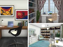 home office design tips. three home office designs created with roomsketcher designer design tips n
