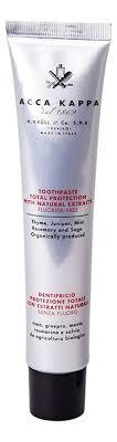 Acca Kappa защитная <b>зубная паста без содержания</b> фтора ...