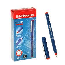 <b>Ручки</b>: <b>Ручка капиллярная Erich Krause</b> F-15 0.6 мм чернила ...