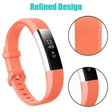 2-Pack <b>Wristband For</b> Fitbit Alta & Alta HR <b>Silicone Replacement</b> ...