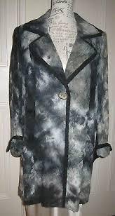 <b>Elena Grunert</b> Designer Jacket Blazer Size 18 Grey & Black. Unworn ...