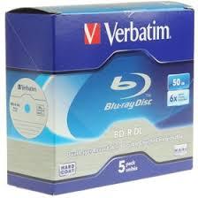 43748, <b>VERBATIM</b> BD-R DL <b>BLURAY</b> 50GB 6X, <b>Диск</b> BD-R (1 шт ...