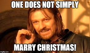 Merry Christmas to All You Imgflippers! Even Those Who Aren't Fond ... via Relatably.com