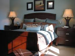 bedroom fancy masculine bedroom ideas blue and brown bedroom interior decorating image of on creative ideas blue walls brown furniture