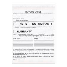 automotive repair invoice work order estimates designsnprint buyers guide warranty form