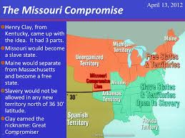 political compromises dowell middle school u s history click on the image to learn more the missouri compromise
