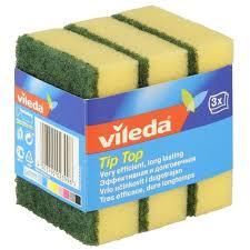 Характеристики модели <b>Губка</b> для посуды <b>Vileda Tip</b>-<b>Top</b> 3 шт на ...