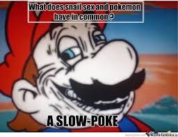 Dirty-Mind Mario. Make Him A Meme At Once! by natsushi - Meme Center via Relatably.com