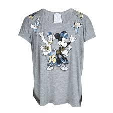Buy <b>Monnalisa NY & LON</b> Grey Daisy Duck and Minnie Mouse ...