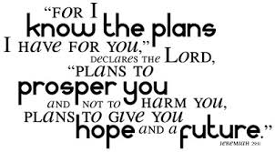 Image result for Jeremiah 29:11