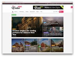top news magazine wordpress themes colorlib woohoo picture centric magazine news template