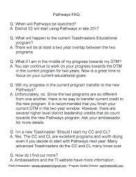 elizabeth gilbert webmaster for district 52 toastmasters pathways flyer page 1 pathways flyer page 2