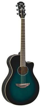 <b>Электроакустическая гитара YAMAHA APX600</b> Oriental Blue Burst ...