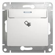 Карточный <b>выключатель Schneider Electric GLOSSA</b>, белый