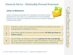 financial aid  scholarship personal statement financial