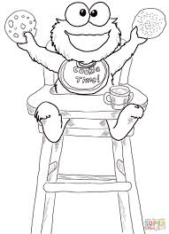 Small Picture Coloring Pages Glitter Lambs Cookie Monster Food Label Cards And